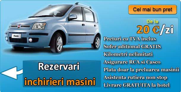 Rezervari online cu Inchirieri masini Targu Mures
